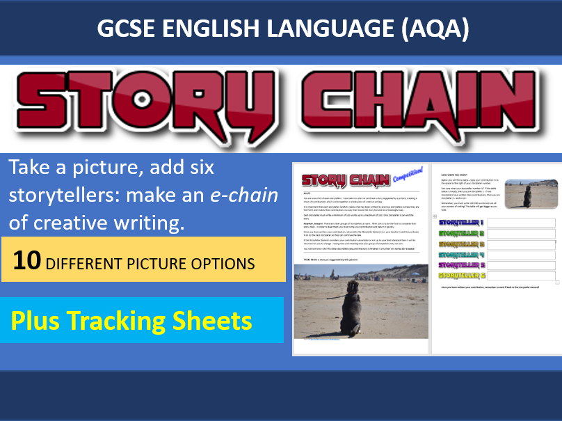 Home Learning Resource – Collaborative Story Chain for GCSE English Language