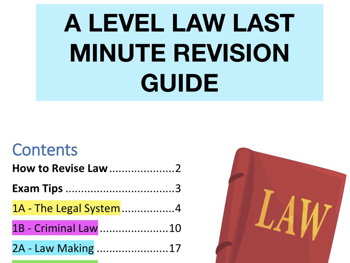 A level law bundle