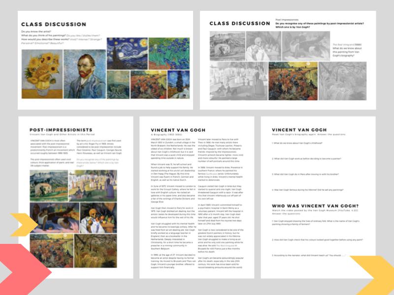 Introduction to Vincent van Gogh   Complete Lesson