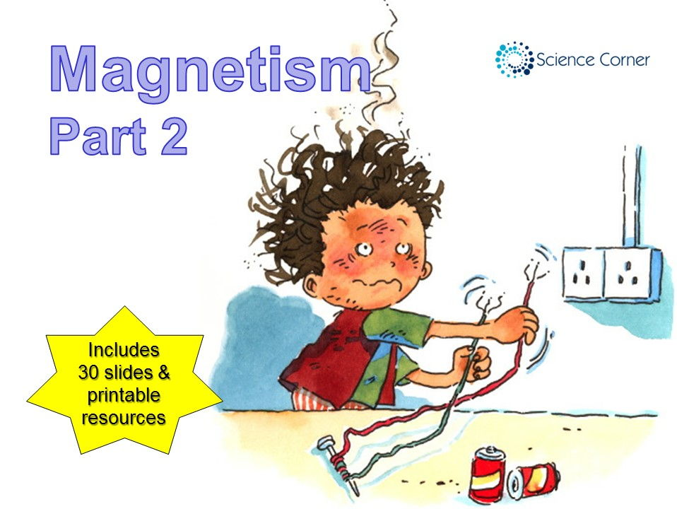 KS3 Physics - Magnetism, Magnets and Electromagnets Resource Pack #2, PowerPoint and Worksheets