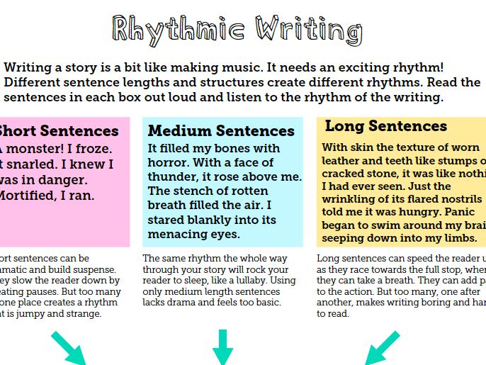Rhythmic Writing - A Simple, Stylish Trick