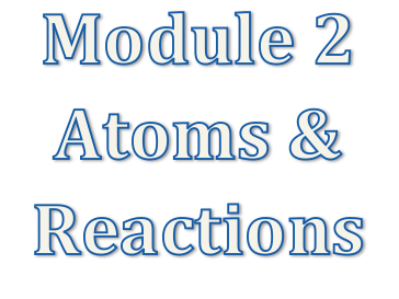 A level Chemistry OCR A Module 2  Atoms & Reactions Revision Notes