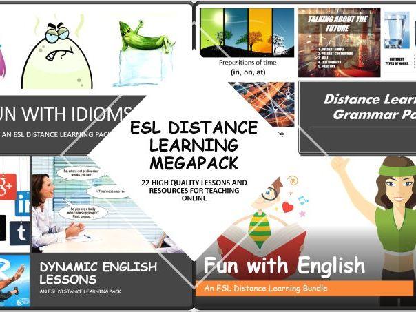 ESL Distance Learning Megapack