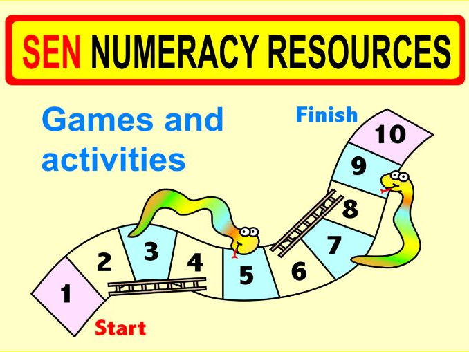 SEN Numeracy Resources