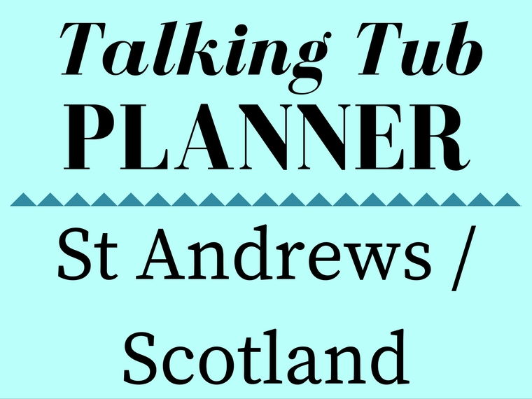 St Andrews/Scotland Talking Tub Planner