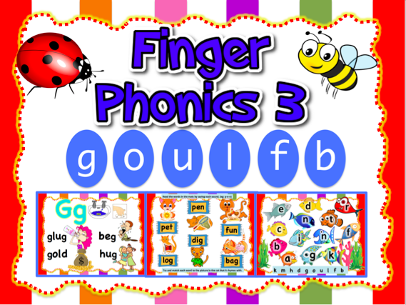 Jolly Phonics 3-goulfb- Animated PPT (22 slides)