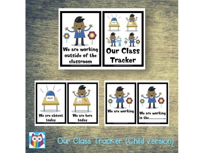 Class Tracker - Child Version