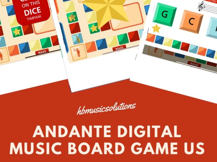Andante Digital Interactive Board Game US Version