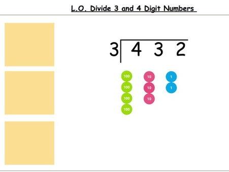 Short Division Y5/6