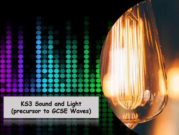 KS3 Frequency and Amplitude from sound and light scheme