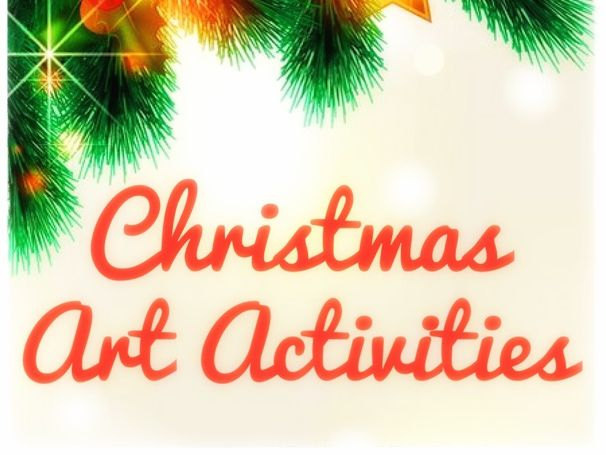 Christmas Art Activities