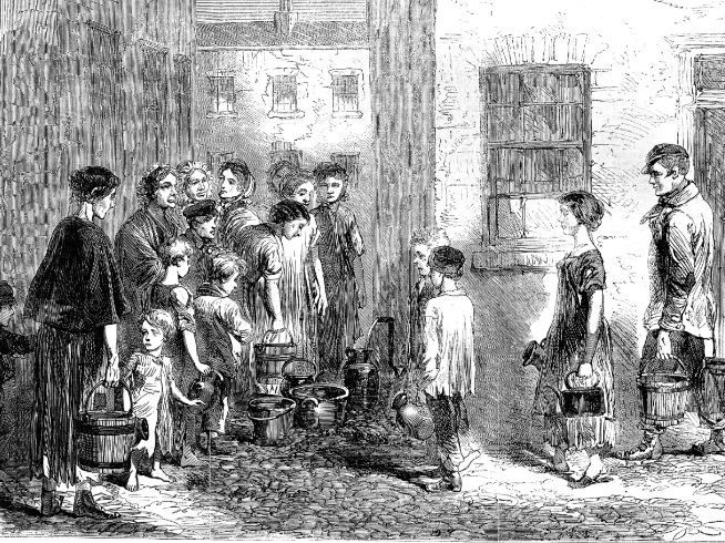 The state of the water in Victorian London
