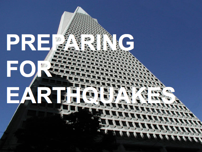 Preparing for an Earthquake! Earthquake proof buildings