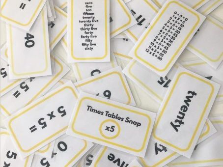 Times Tables Snap 2s, 5s, 10s