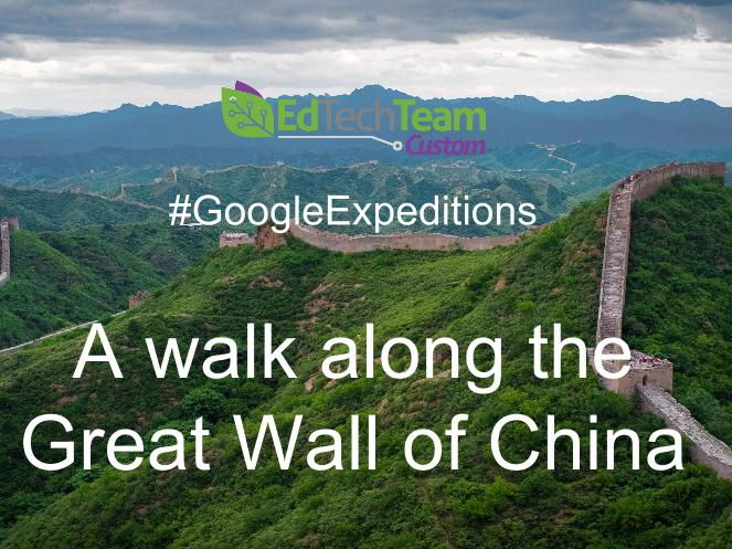 The Great Wall of China - #GoogleExpedition