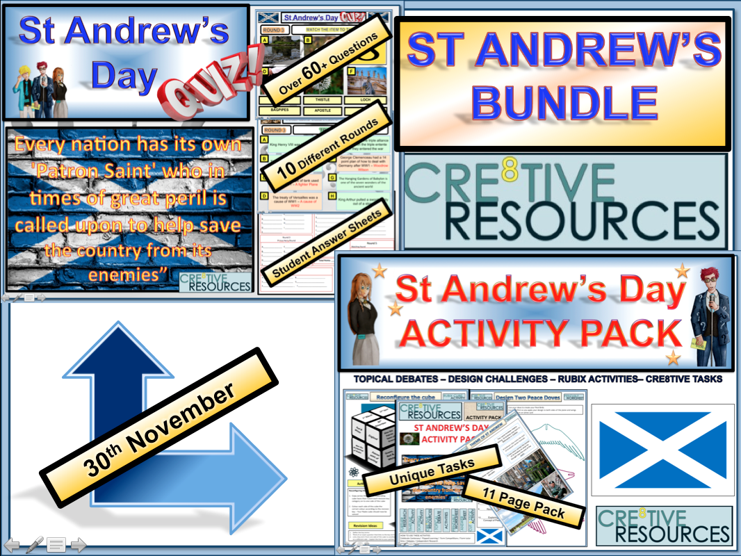 St Andrew's Day Bundle