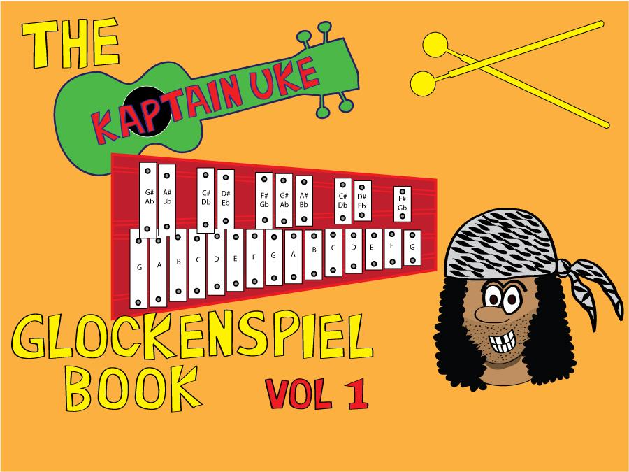 The Kaptain Uke Glockenspiel Book vol 1 resources