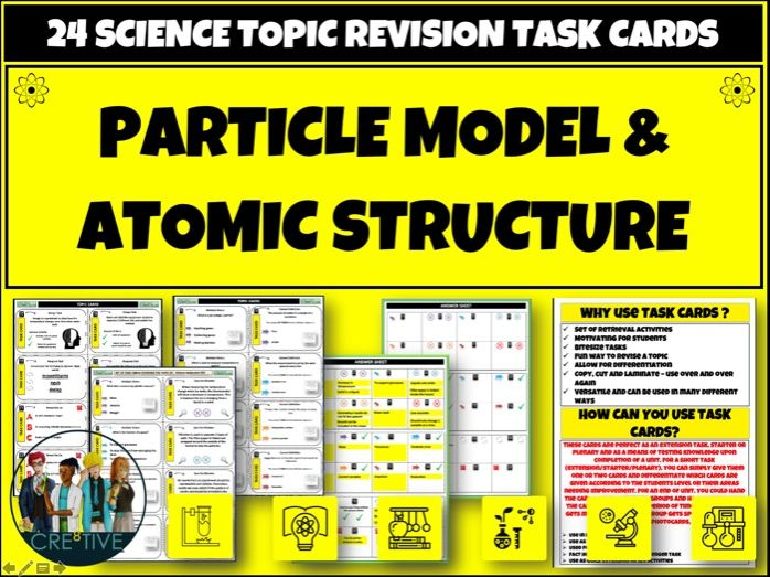 Particle Model Atomic Structure  Science