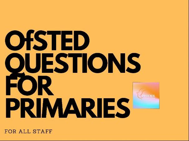 Ofsted Framework Questions For Primary Schools