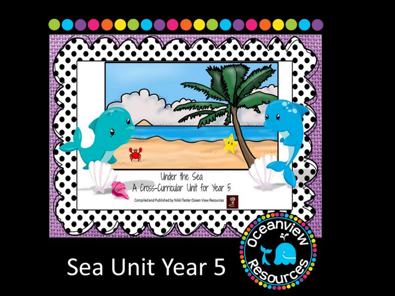 Year 5 Sea Themed Cross Curricular Unit