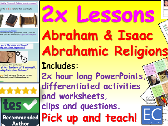 Abraham's story and Abrahamic religions