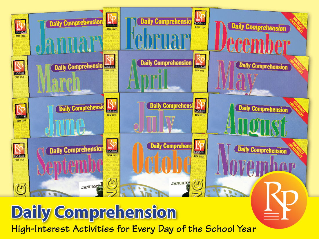Daily Comprehension {Bundle}