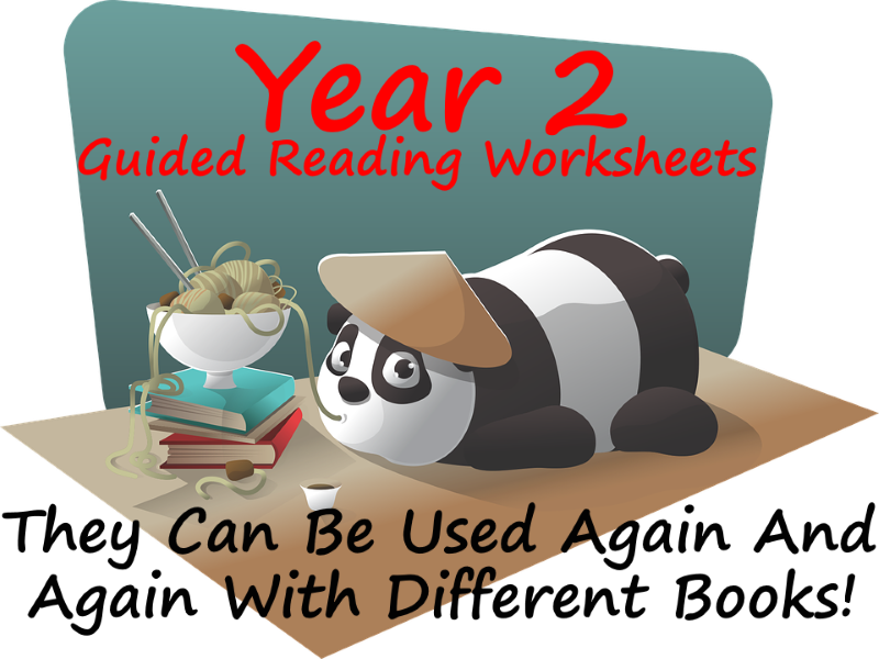 Year 2 Guided Reading Worksheets - Can be used with any reading scheme.