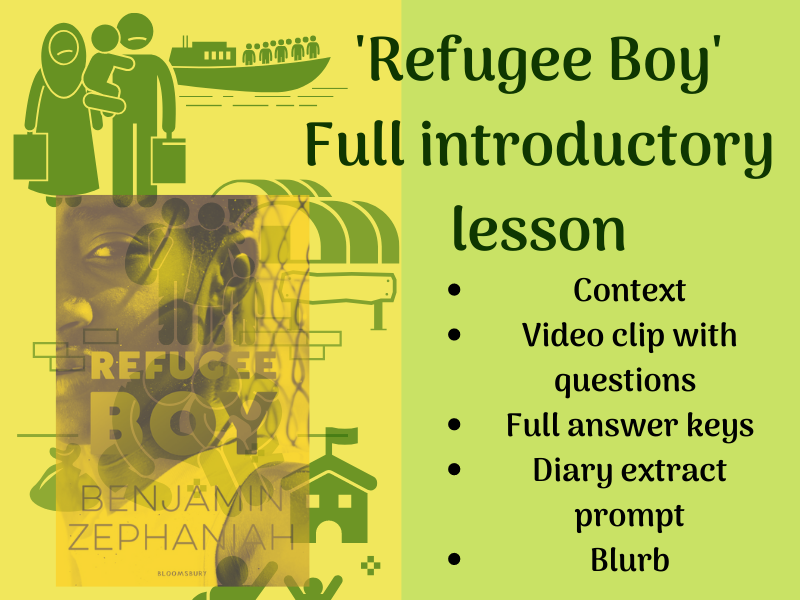 'Refugee Boy' Full introduction lesson