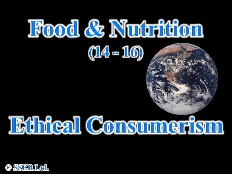 4.3 Buying Food - Ethical Consumerism