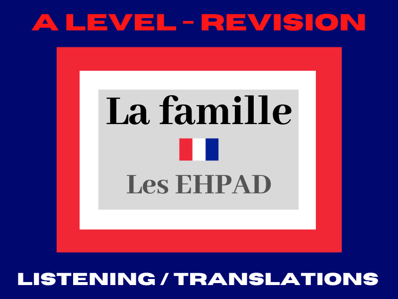 French A level EHPAD