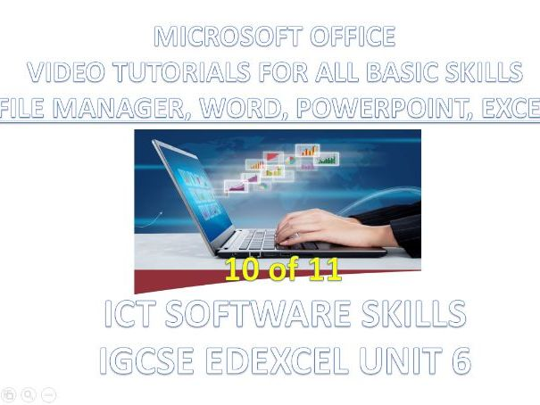ICT - Word, PPT & Excel Video Tutorials - IGCSE Edexcel Unit 6 Software Skills (10 of 11)