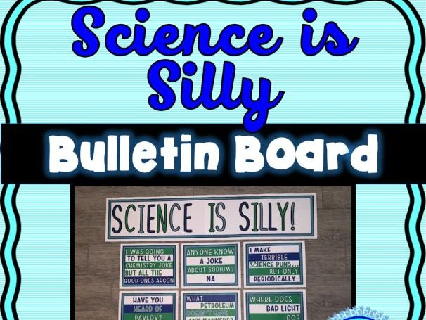 Science Jokes Bulletin Board - Classroom Posters