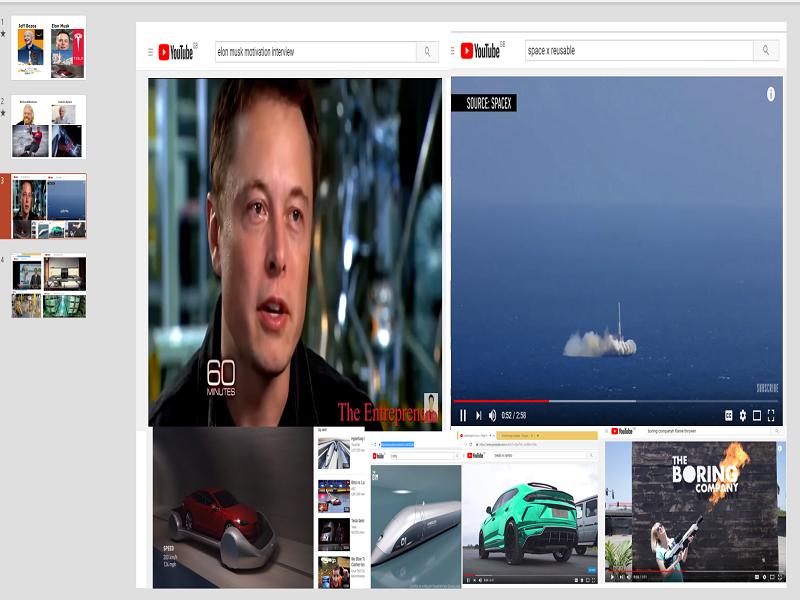 Researching Tech Entrepreneurs : Elon Musk, Jeff Bezos, James Dyson, Richard Branson