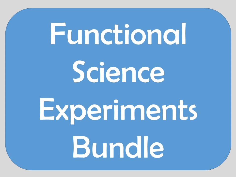 Functional Science Experiments Bundle