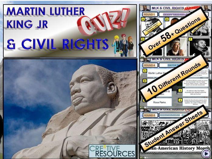 Martin Luther King JR. MLK Civil Rights