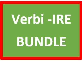 IRE Verbs in Italian Verbi IRE Bundle