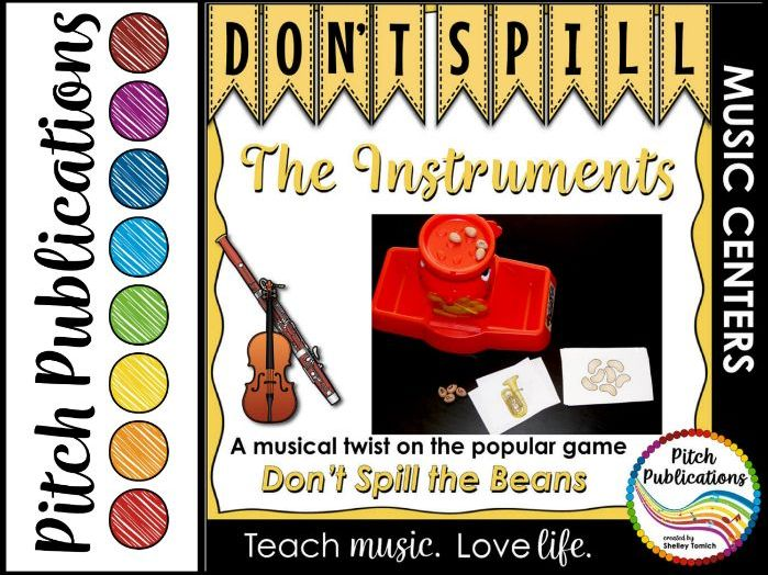 Music Center: Don't Spill the Instruments! - Instrument Family Game