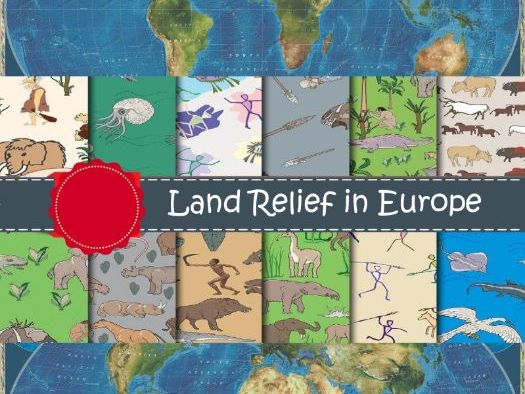Land Relief in Europe
