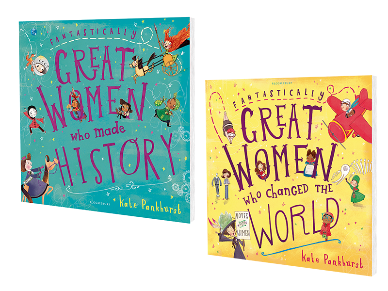 Fantastically Great Women by Kate Pankhurst