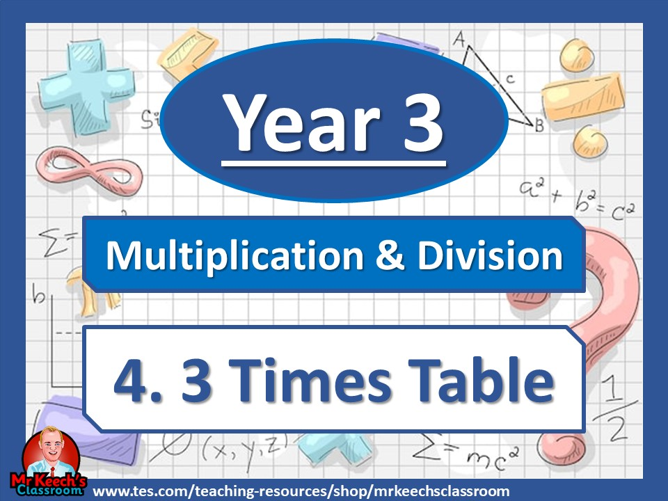 Year 3 – Multiplication and Division – 3 Times Table - White Rose Maths