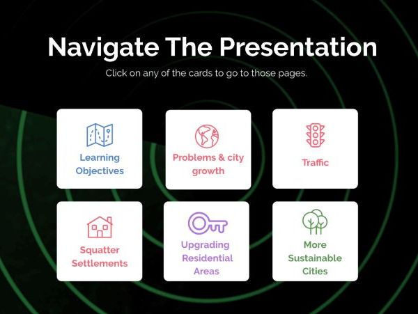 Interactive Presentation - Urbanisation
