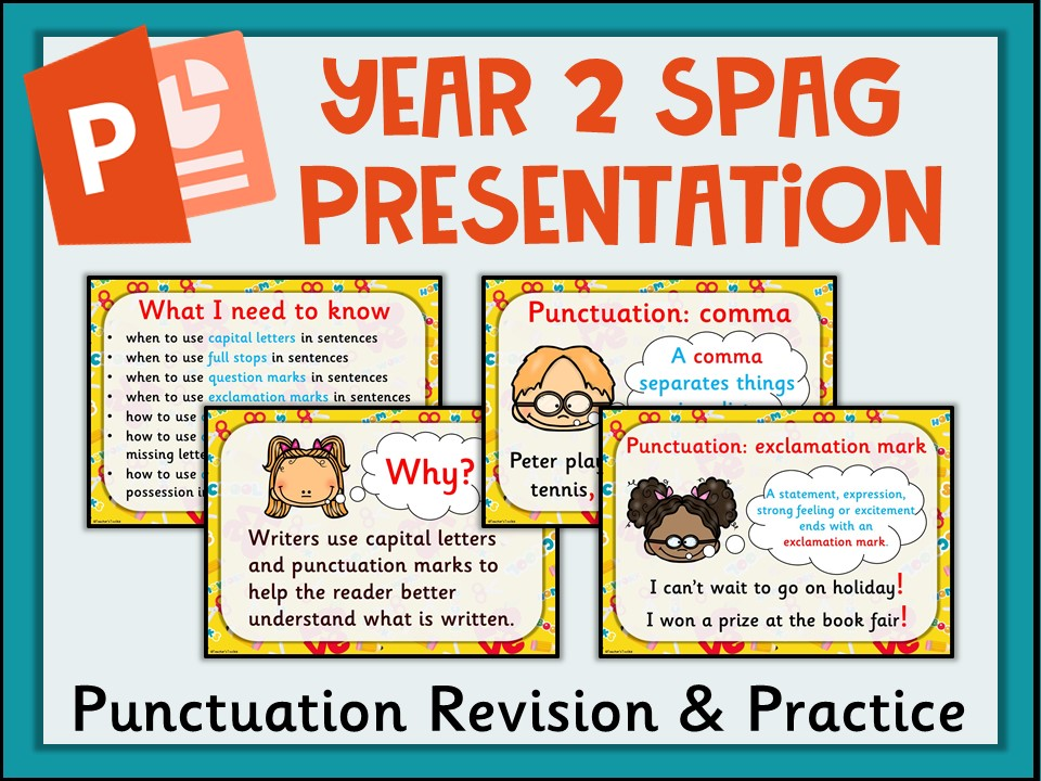 SPAG REVISION: Year 2 Punctuation Revision and Practice