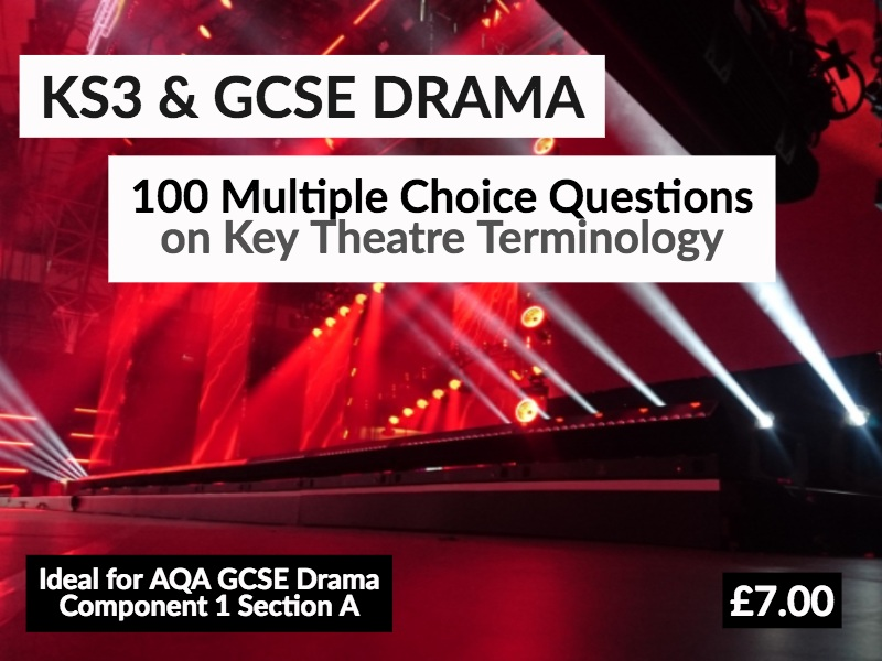 100 Multiple Choice Questions on Theatre Terminology
