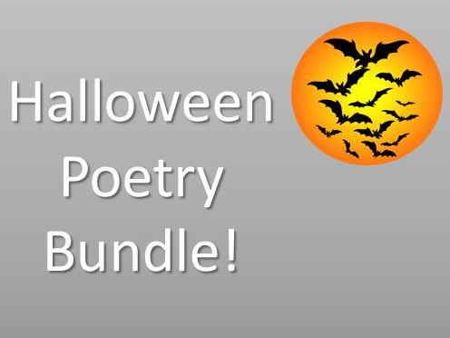Halloween Poetry Bundle