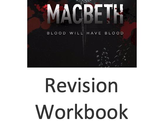 Macbeth Revision Workbook