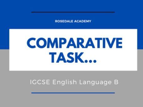 New IGCSE English Language B Comparative Task ~ AO3 Critical Thinking & Analysis  Top Students' Work