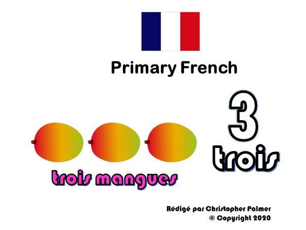 Primary French: Number 3 (Key Stage 1)