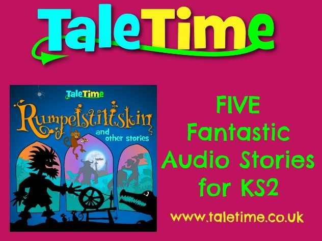 Listening: Folktales, Fairy Tales Collection - Rumpelstiltskin and Other Stories