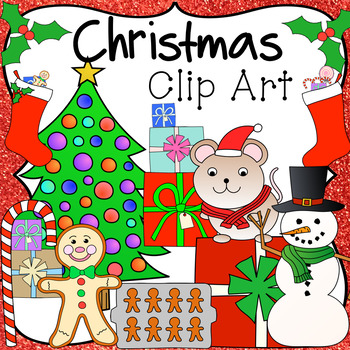 Winter, Christmas & Holiday Clip Art, Color & Black Line .PNG Images