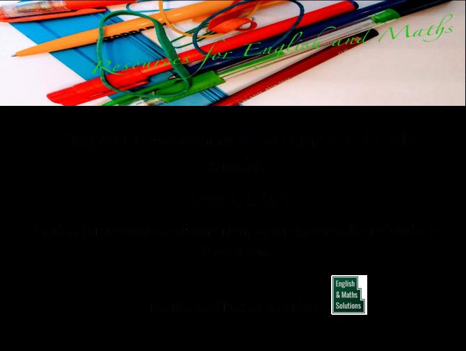 Functional Skills Maths Diagnostic Assessment  Levels 1 & 2    Revised Standards